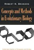 Concepts & Methods in Evolutionary Biology