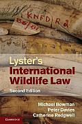 Lysters International Wildlife Law