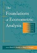 The Foundations of Econometric Analysis