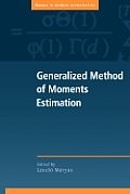 Generalized Method of Moments Estimation