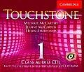 Touchstone Class Audio CDs 1 Class Audio CDs L1 (Pack 4)
