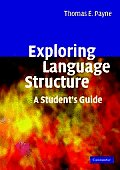 Exploring Language Structure A Students Guide