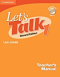 Let's Talk Level 1 Teacher's Manual with Audio CD [With Quizzes & Tests Audio CD]