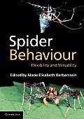 Spider Behaviour Flexibility & Versatility