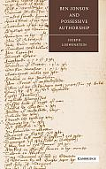 Ben Jonson and Possessive Authorship