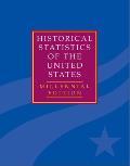 The Historical Statistics of the United States 5 Volume Hardback Set: Millennial Edition