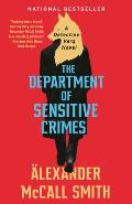 Department of Sensitive Crimes A Detective Varg Novel 1