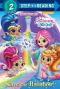Save the Rainbow Shimmer & Shine Nickelodeon