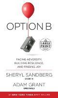 Option B Facing Adversity Building Resilience & Finding Joy Large Print Edition
