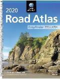 Rand McNally 2020 Road Atlas Midsize Easy Finder Spiral