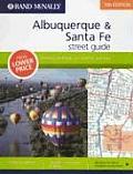 Rand McNally Albuquerque & Santa Fe Street Guide: Including Las Vegas, Los Alamos, and Taos (Rand McNally Street Guides)