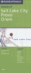 Salt Lake City Provo Orem Street Map