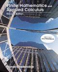 Finite Mathematics & Appl Calculus 2ND Edition
