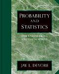 Probability & Statistics for Engineering & the Sciences 6th Edition