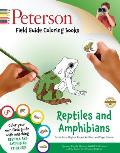 Peterson Field Guide Coloring Books: Reptiles and Amphibians [With Sticker(s)]