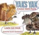 Yaks Yak Animal Word Pairs