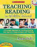 Teaching Reading in Middle School: 2nd Edition: A Strategic Approach to Teaching Reading That Improves Comprehension and Thinking [With CDROM]