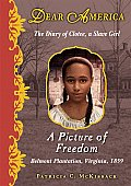 Dear America A Picture of Freedom The Diary of Clotee a Slave Girl Belmont Plantation Virginia 1859 Library Edition