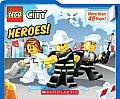 Lego City Heroes lift the flap
