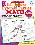 50 Skill Building Pyramid Puzzles Math Grades 4 6