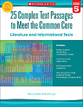 25 Complex Text Passages to Meet the Common Core Literature & Informational Texts Grade 5