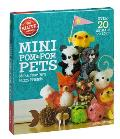 Mini Pom Pom Pets Make your own fuzzy friends