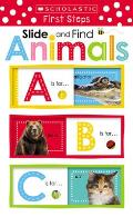 Animals Abc: Scholastic Early Learners (Slide and Find)