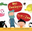 Two at the Zoo Dos En El Zoologico Bilingual Board Book