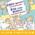Cinco monitos Coleccion de Oro Five Little Monkeys Storybook Treasury
