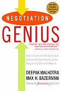 Negotiation Genius How to Overcome Obstacles & Achieve Brilliant Results at the Bargaining Table & Beyond