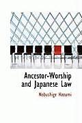 Ancestorworship and Japanese Law