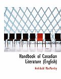 Handbook of Canadian Literature (English)