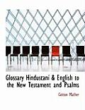 Glossary Hindaostainas a English to the New Testament and Psalms