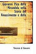 Giovanni Pico Della Mirandola Nella Storia del Rinascimento E Della ...