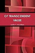 Of Transcendent Value