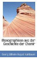 Monographieen Aus Der Geschichte Der Chemir
