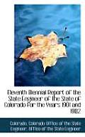 Eleventh Biennial Report of the State Engineer of the State of Colorado for the Years 1901 and 1902