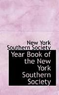Year Book of the New York Southern Society