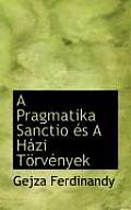 A Pragmatika Sanctio ?'S A H Zi T RV Nyek