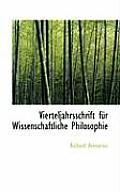 Vierteljahrsschrift F R Wissenschaftliche Philosophie