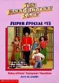 Babysitters Club Ss 15 Babysitters European Vacation