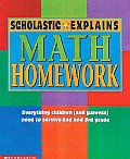 Scholastic Explains Math Homework Gr 2 3