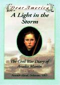 Dear America Light In the Storm the Civil War Diary of Amelia Martin Fenwick Island Delaware 1861