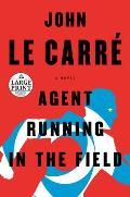 Agent Running in the Field- LARGE PRINT