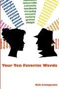 Your Ten Favorite Words