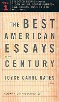 Best American Essays Of The Century Volume 1