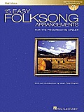 15 Easy Folksong Arrangements High Voice Introduction By Joan Frey Boytim