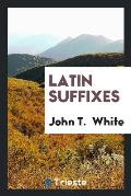 Latin Suffixes