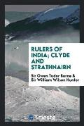 Rulers of India; Clyde and Strathnairn