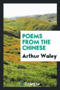 Poems from the Chinese